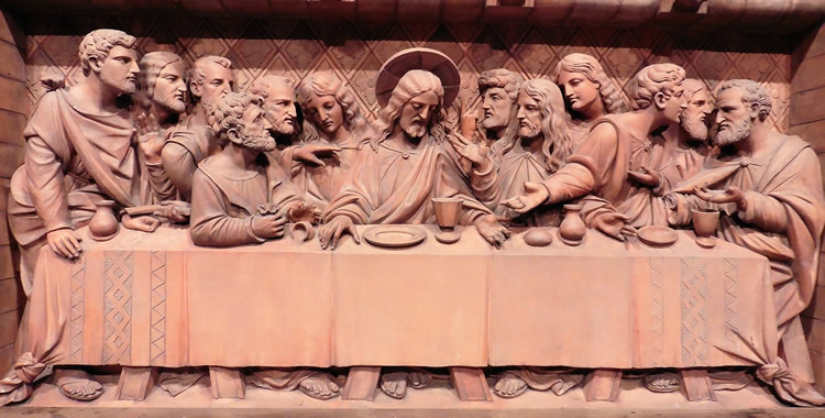 Last Supper Reredos